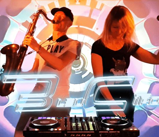BleuCitron - Chant Sax DJ