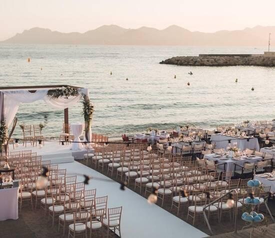 Mariage Bijou Plage Cannes