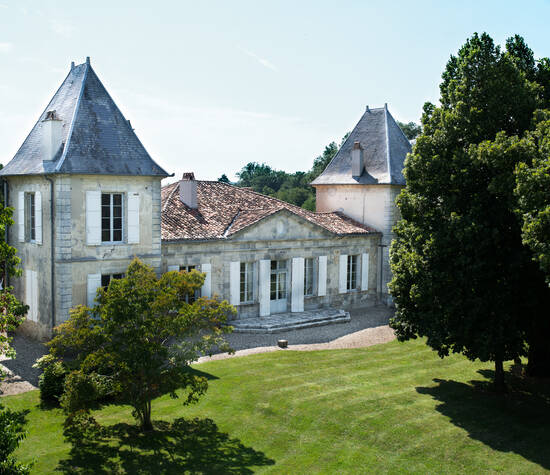 Château de Hitte Côté Jardin clos