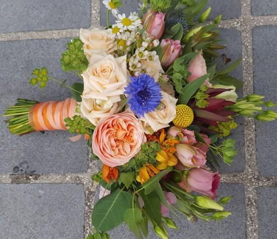 Fleurambulle - Bouquet mariage bohème