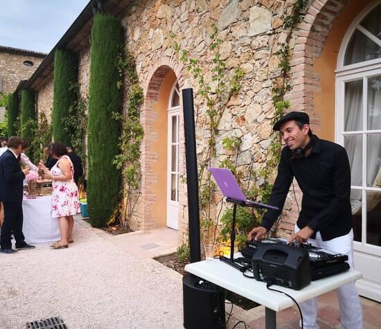 Mariage au Chateau Font-de-Broc le 4 août 2018