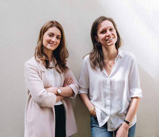 Nos deux créatrices, Anne et Blandine