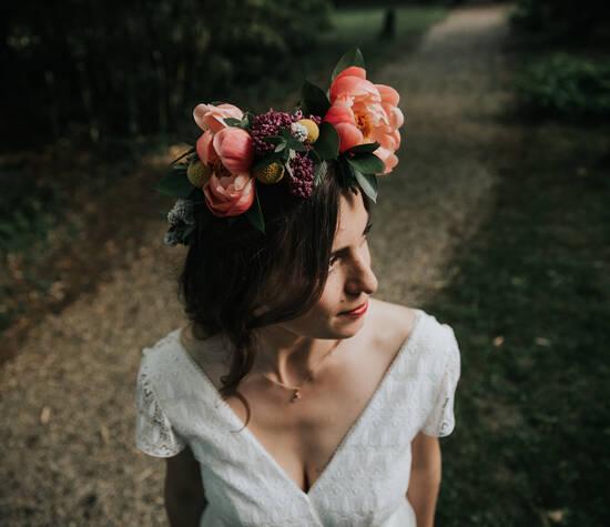 Les Mauvaises Herbes, Artisans Fleuristes. Crédit photo: Emilie Soler.