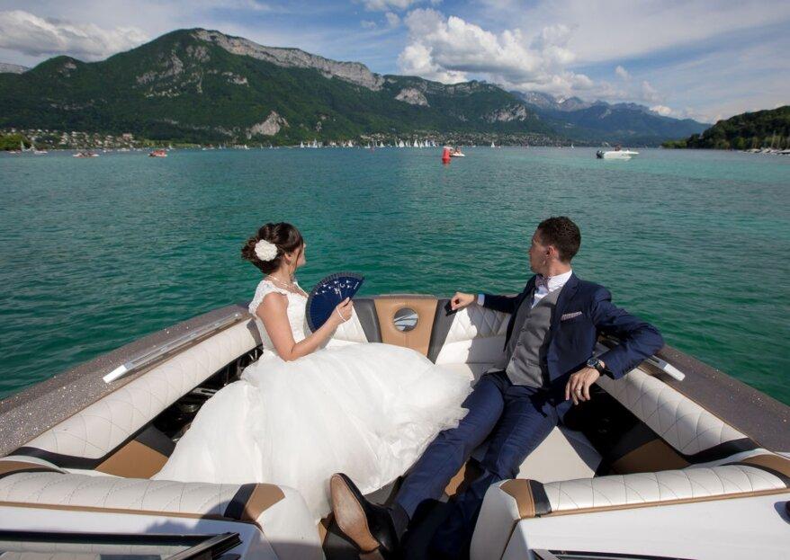 Hôtel Beauregard : célébrez votre grand jour dans un décor magique, au bord du Lac d'Annecy