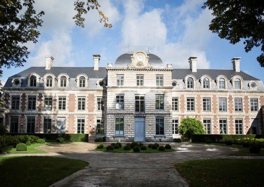 Le Château de Ranchicourt vous accueille dans son décor enchanteur