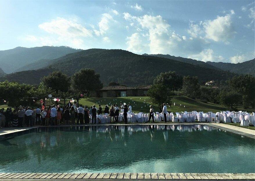 La Villa Prussiana en Corse : quoi de plus magique comme décor pour se marier ?