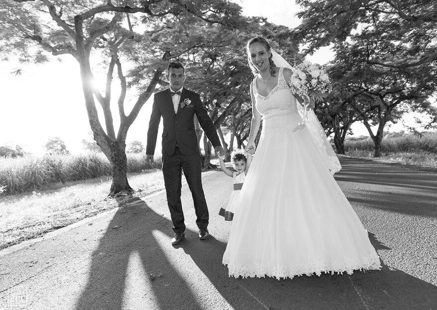 Simplicité et naturel : le secret des photos de mariage de Bernard Thomas