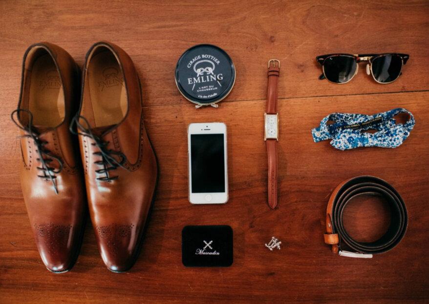 Quels accessoires associer à votre costume de mariage ?