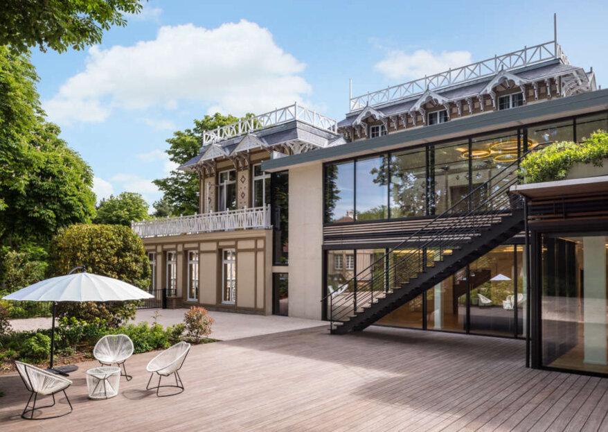 Les salles de réception près de Paris pour un mariage fabuleux en Île-de-France !