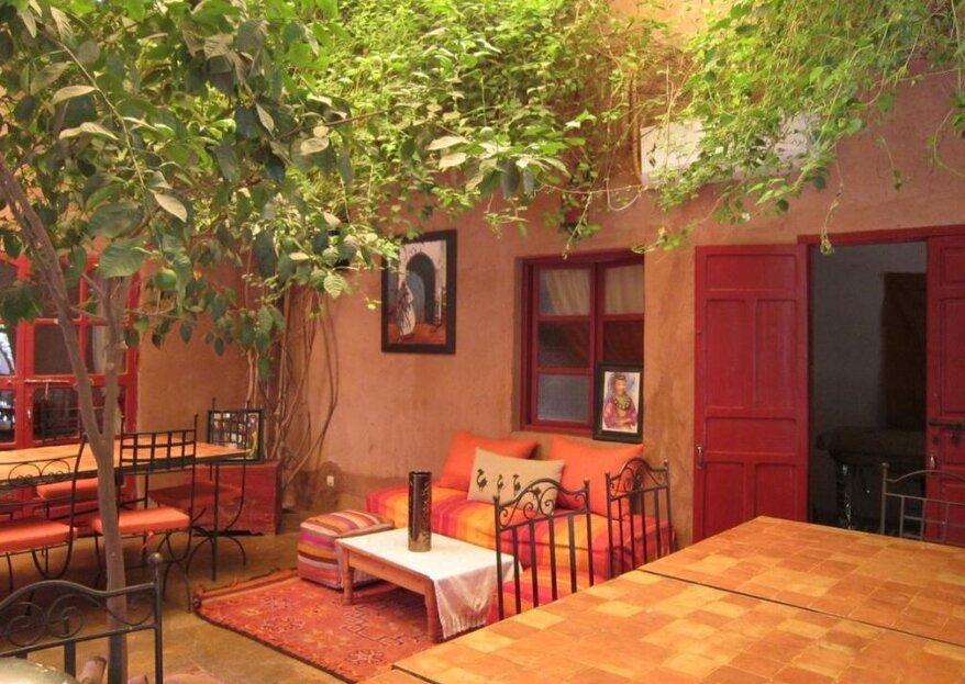 Dar Tougga : privatisez un Riad à Marrakech pour votre mariage !