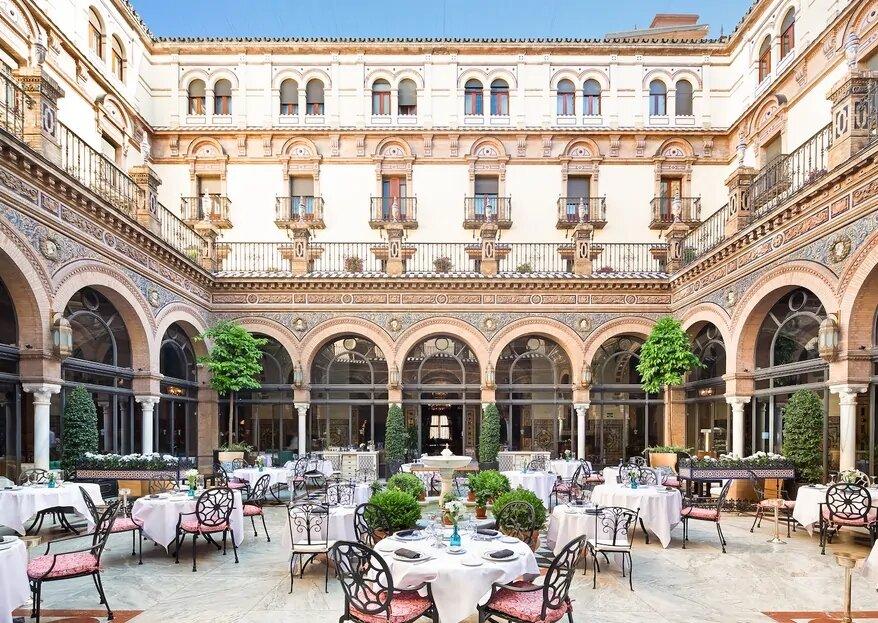 Célébrez votre mariage dans un style espagnol à l'Hotel Alonso XIII