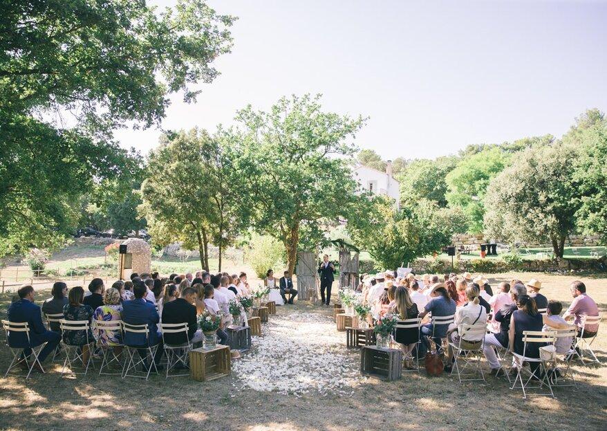 Se marier en plein air au Château la Sibérie, on dit oui !