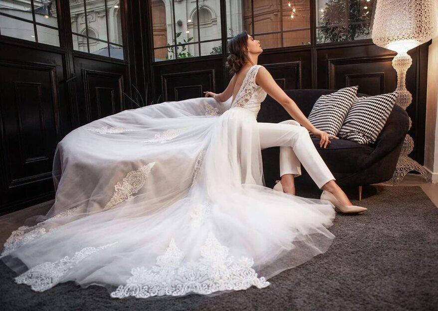 Lammari Paris : des robes de mariée féminines, modernes et intemporelles