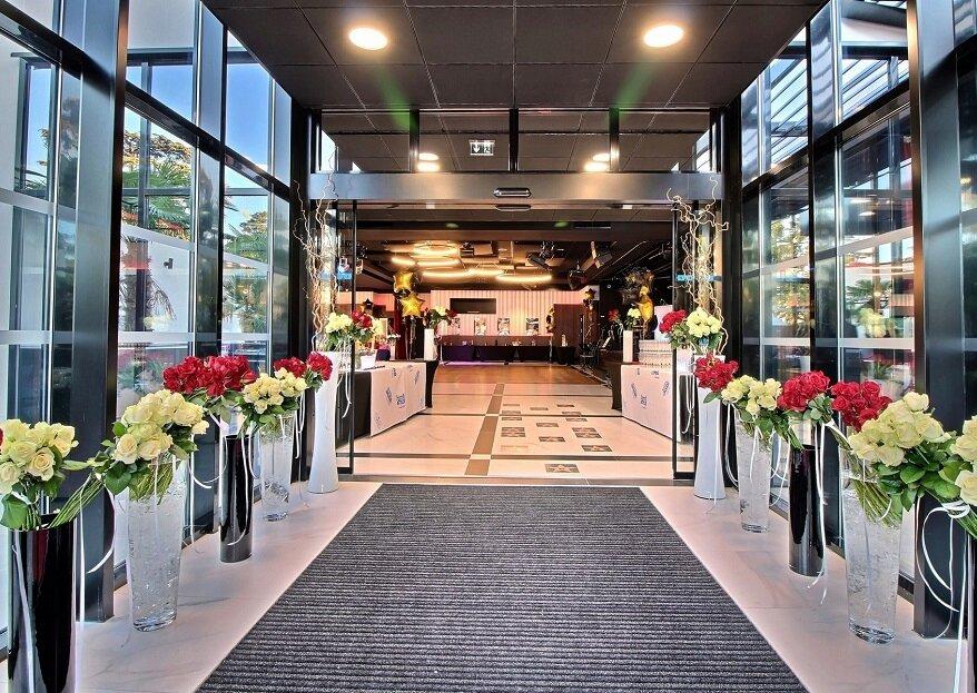 Mariage à l'Hôtel Palladia à Toulouse : chic, luxe et sérénité assurés