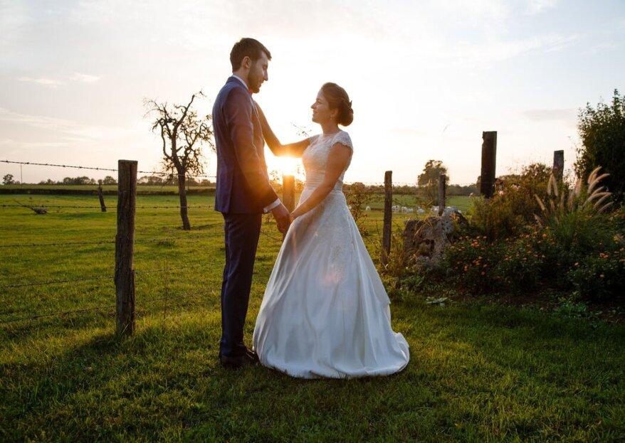 Au cœur de la nature, le domaine du Grand Nanteux s'annonce idéal pour votre mariage champêtre