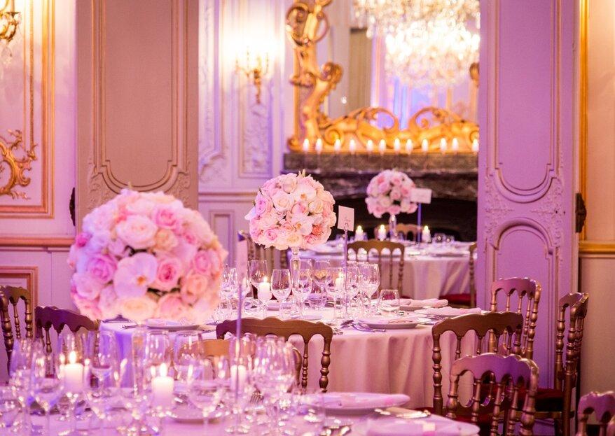 Pour un mariage chic parisien, découvrez l'univers glamour de Sandy.T
