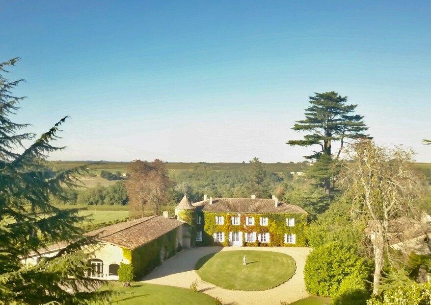 Laissez-vous charmer par le Château Lardier au cœur de la région bordelaise
