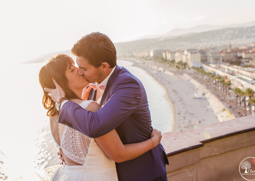 Claire Marchandeau : une photographe de mariage aux clichés pétillants de vie !