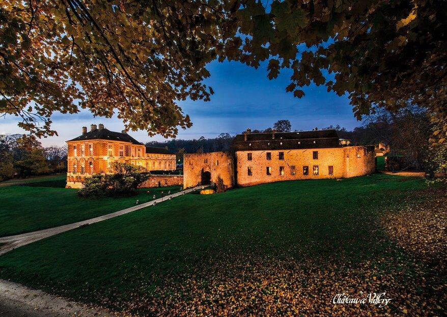 Le Château de Vallery : un joyau de la Renaissance pour votre seul mariage au Sud de Paris