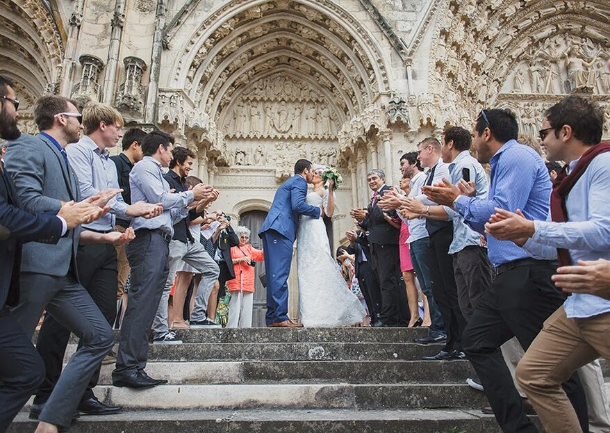 Ordre d'entrée du cortège d'honneur à l'église : tout ce qu'il faut savoir pour votre mariage