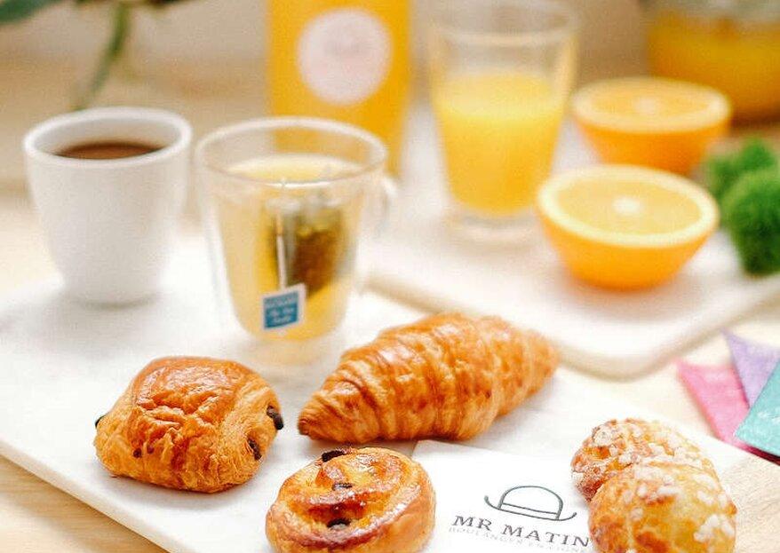 Prolongez la magie de votre mariage avec Mr Matin, LE traiteur spécialiste du brunch et du petit-déjeuner