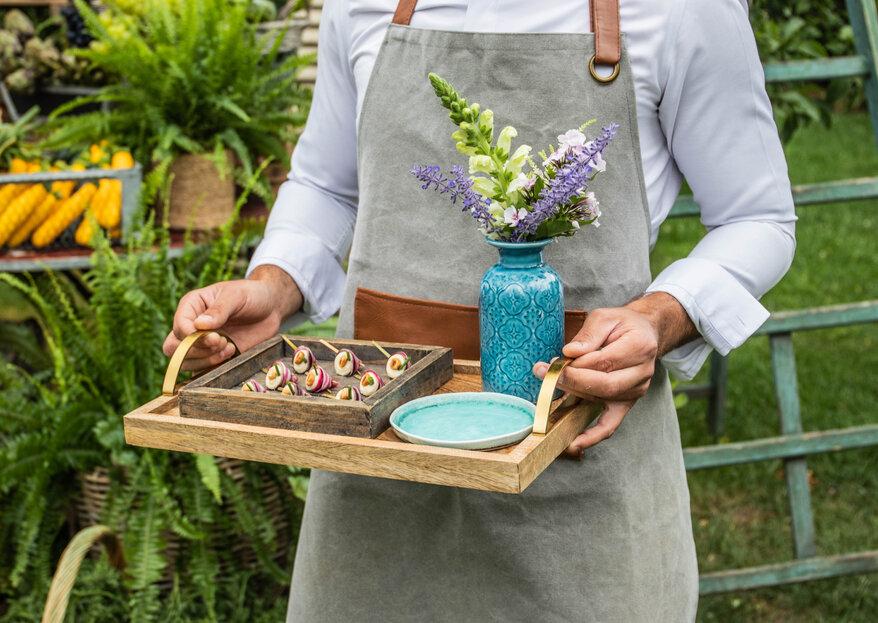Grand Chemin Traiteur : des petits plats qui sentent bon le terroir au menu de votre mariage !