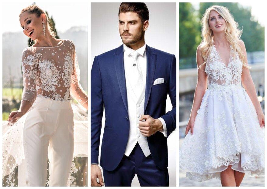 Spécial couple de mariés : les tenues tendance en 2021