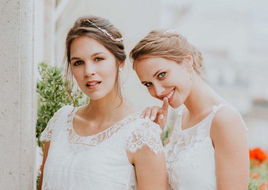 Découvrez la boutique 2 Moi Z'Ailes, créatrice de bijoux et de lingerie pour mariées