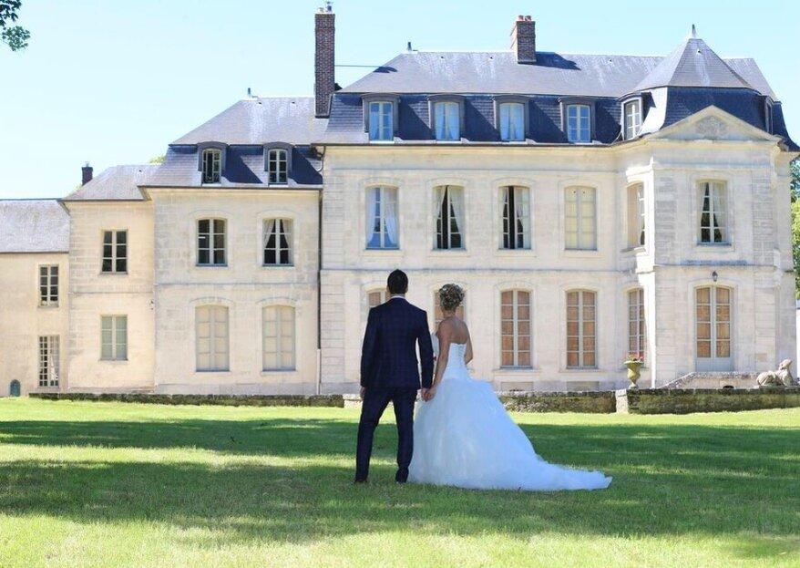 Au Château de Maudétour, inscrivez votre grand jour dans une ambiance aussi conviviale que chaleureuse