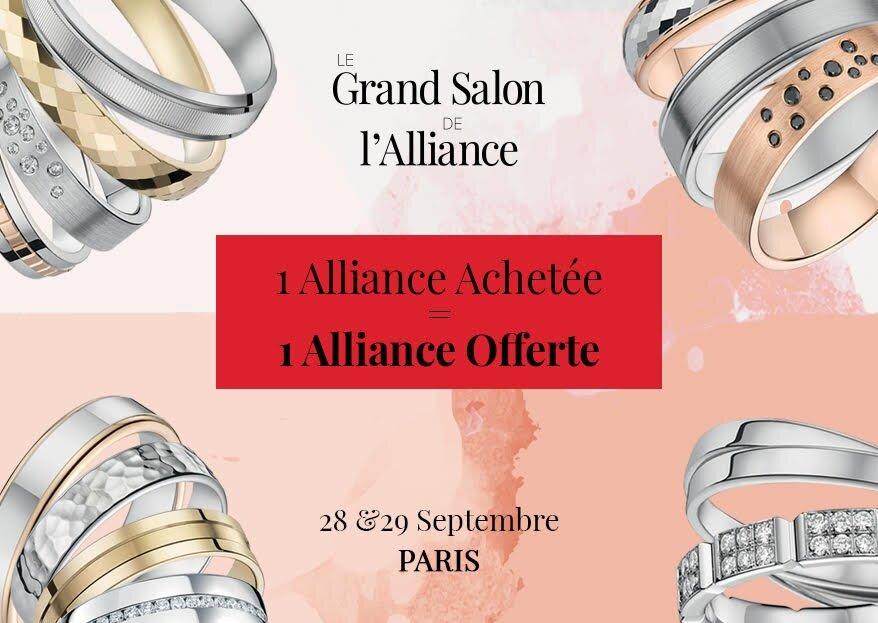 Rendez-vous les 28 et 29 septembre 2019 au Grand Salon de L'Alliance à Paris