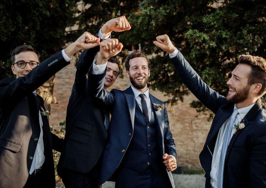 Tenues de mariage : place au marié et aux invités !