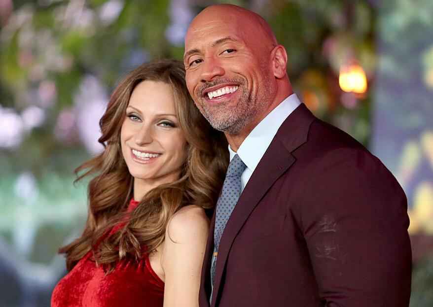 """Dwayne Johnson dit """"The Rock"""" s'est secrètement marié à Hawaï ce week-end !"""