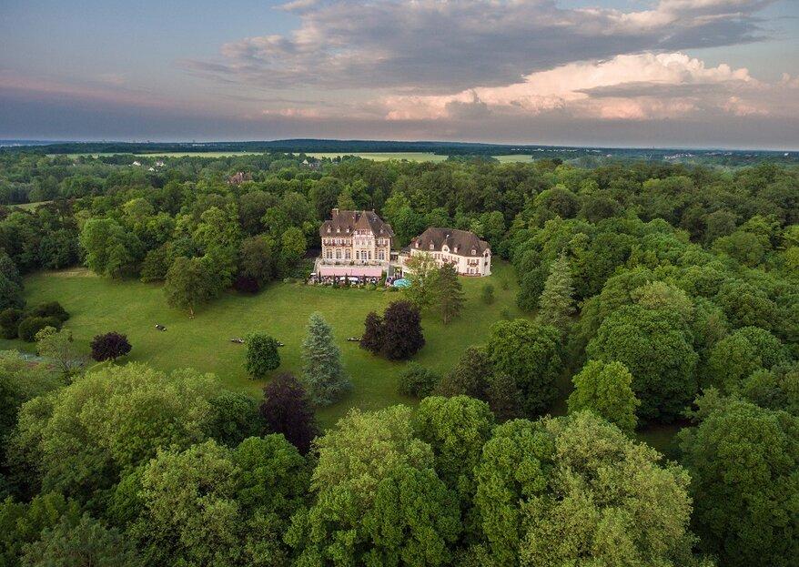Célébrez vos noces dans un cadre champêtre et authentique au Château de la Tour