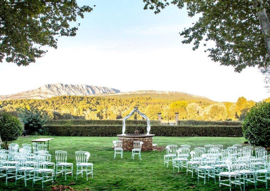 """Les domaines champêtres où vous marier """"au grand air"""""""