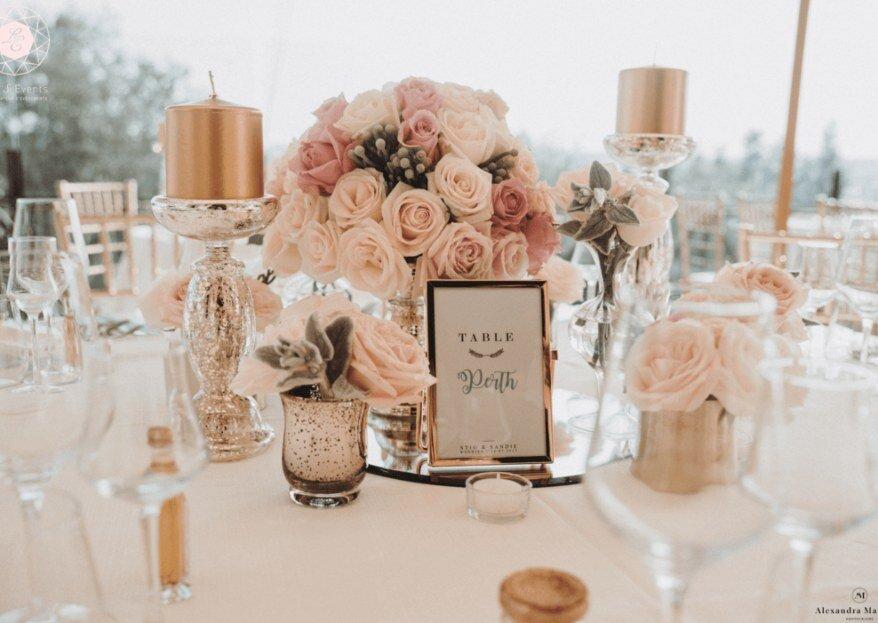 Nom de table du mariage : exemples originaux et personnalisables