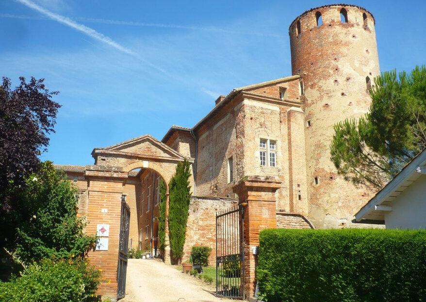 Château de Launac : un lieu de réception hors du temps aux portes de Toulouse