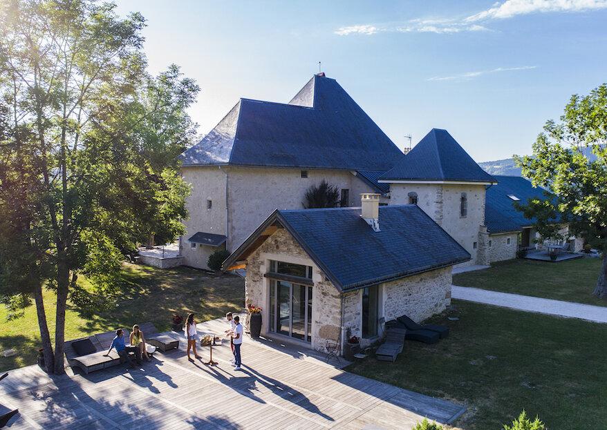 Entre tradition et modernité, fondez pour le Château des Girards au cœur de la nature exceptionnelle du Vercors