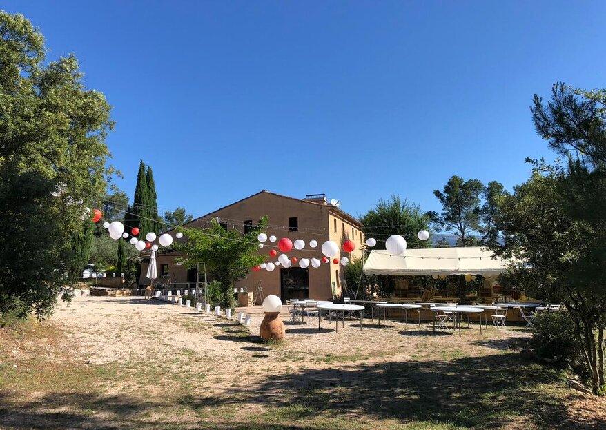 Domaine de Gros Driou : un authentique environnement provençal où vous dire « oui » !