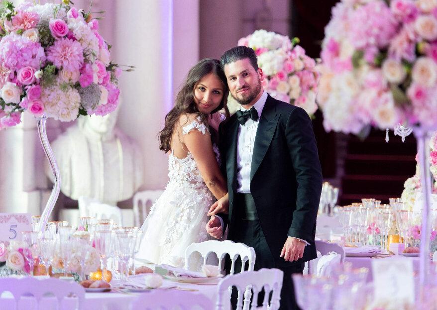 Olesya et Georges : un mariage poétique digne des plus beaux contes de fées