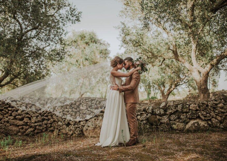 Nina et Mohamed : noces italiennes romantiques pour un mariage mixte et convivial