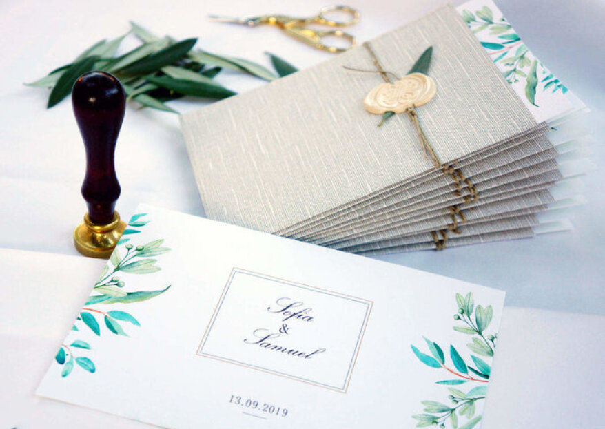 Faire-part de mariage gratuits en ligne: le TOP 5 des sites d'invitation !