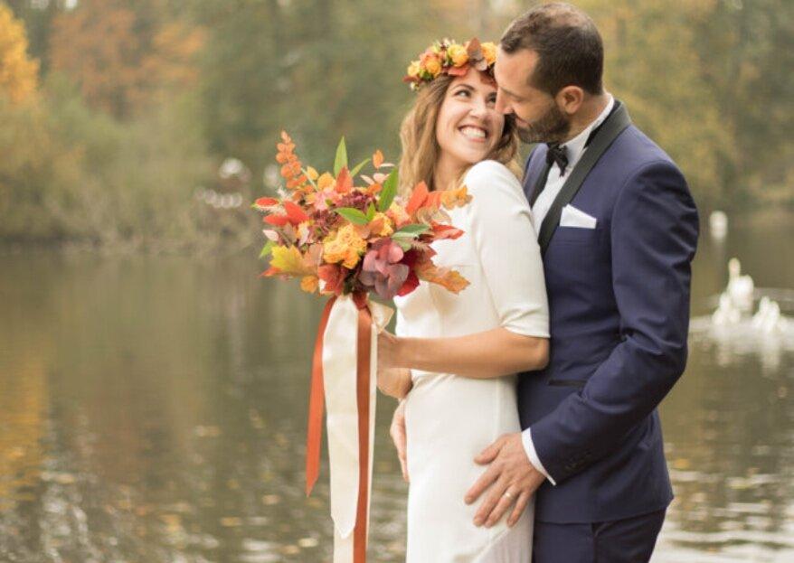 8 avantages d' organiser votre mariage en automne, parole de pros !