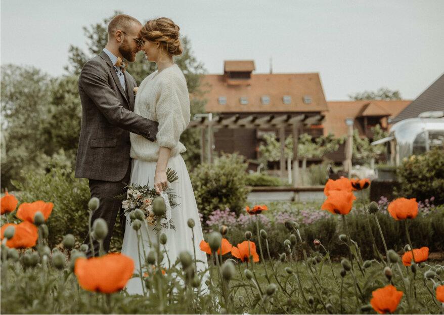 Alexandra et Joffrey: un mariage gourmand et vintage en Alsace