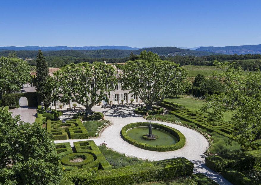 Se marier dans un Château : quand la modernité s'invite en toute saison !