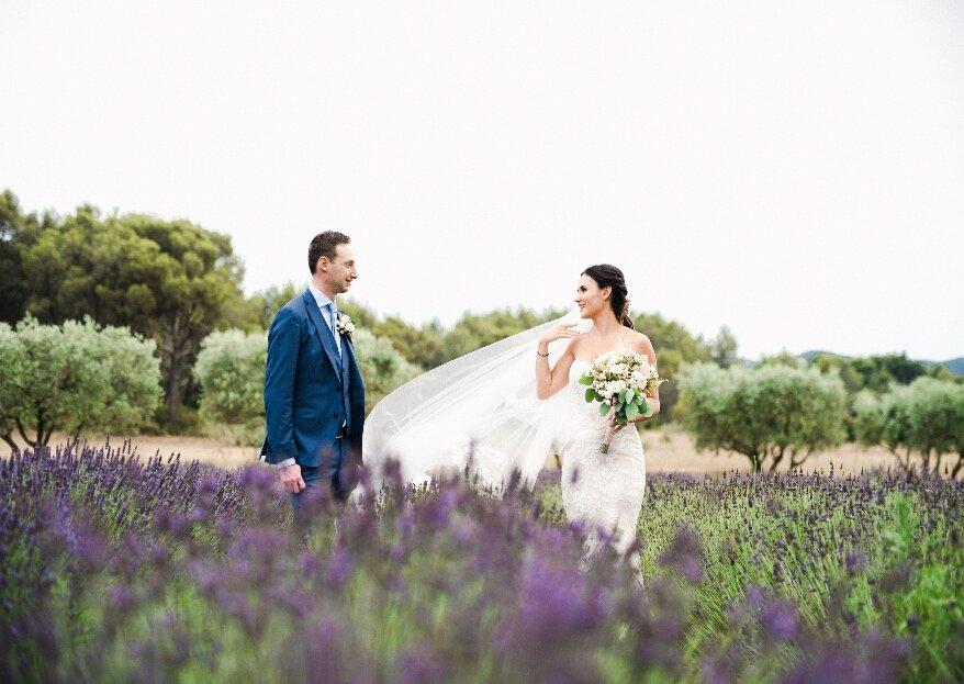 Mariage d'exception dans le sud de la France : My Wedding in Provence