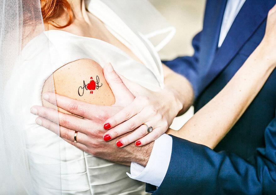 Lovely Pénélope : des tatouages et accessoires personnalisables pour rendre votre mariage unique et mémorable