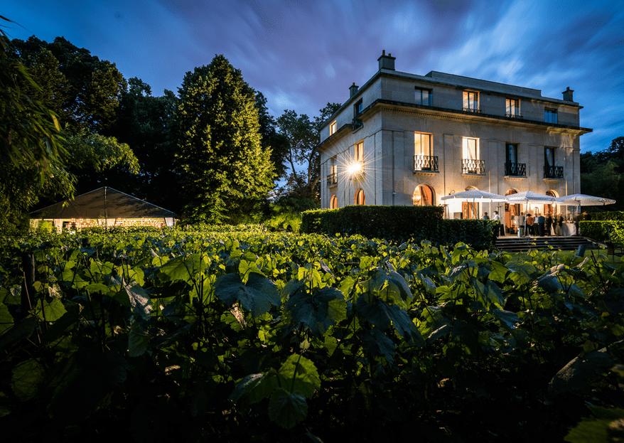 Un écrin de nature à Paris : Découvrez la Vigne de Paris Bagatelle pour votre mariage