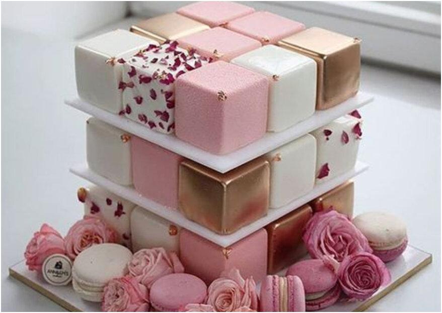 Les 15 gâteaux de mariage les plus insolites de Pinterest et d'instagram ... Il fallait y penser !