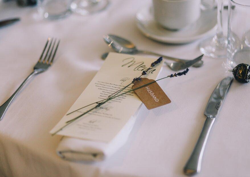 Repas de mariage : la conception de votre menu 5 étapes