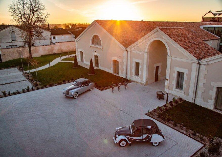 Hôtel Chais Monnet & Spa : l'élégance et le raffinement pour la réception de votre grand jour